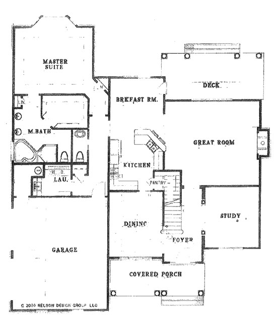 The Bailey Floorplan Doyle Evans Realty