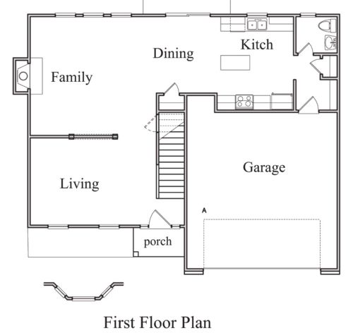 The connie ii floorplan doyle evans realty for 10 x 12 kitchen floor plans