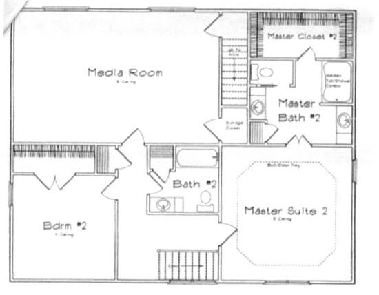 The Mauberry Ii Floorplan Doyle Evans Realty