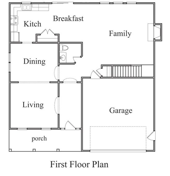 The nicole floorplan doyle evans realty for 15 x 17 living room